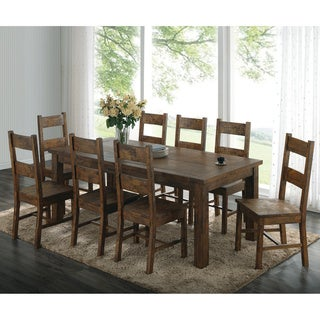 Coleman Golden Brown 7-piece Dining Set