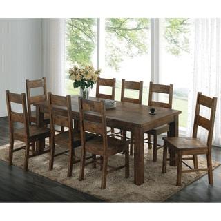 Coleman Golden Brown 7-piece Dining Set