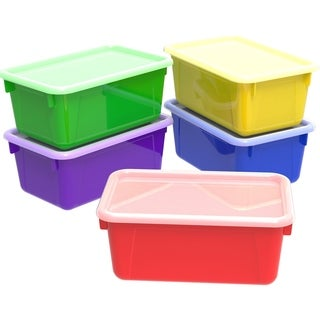 Storex Small Cubby Bin /Classroom Assorted (5 units/pack)