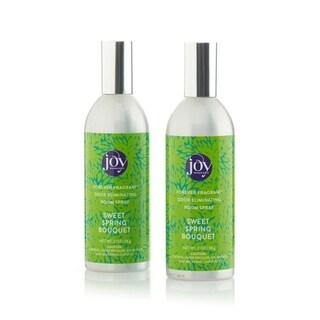 Joy Mangano Forever Fragrant Set of 2 Room Sprays 2oz Sweet Spring Boutique - Green
