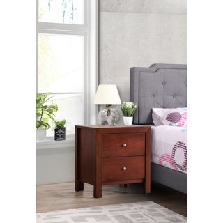 Burlington 2-drawer Wood Nightstand