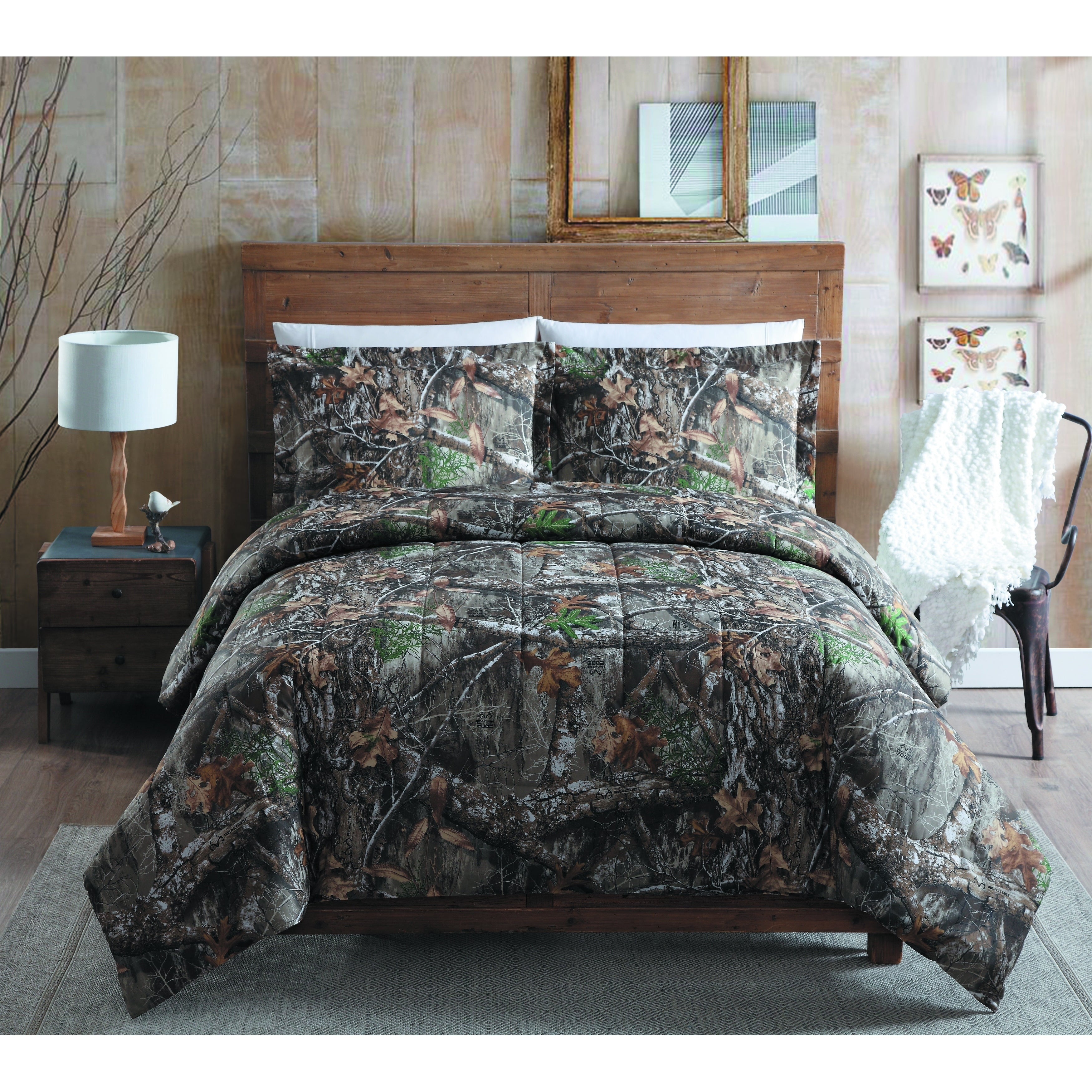 Realtree Edge Queen Comforter Set Overstock 21791934
