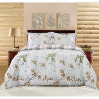 Realtree Xtra Comforter Set, Grey, Camo