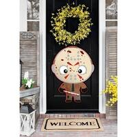 """Haloween Warrior Blood Full Color Wall Decal Sticker K-377 FRST Size 52""""x80"""""""