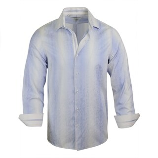 Monza Modern-Fit Stripe Dress Shirt