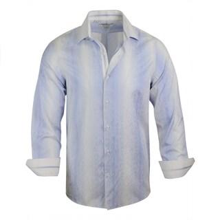 Monza Modern-Fit Stripe Dress Shirt