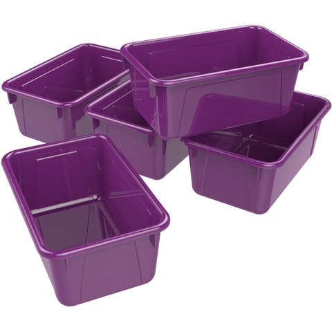 Small Cubby Bin / Mulberry Wine (5 units/pack)