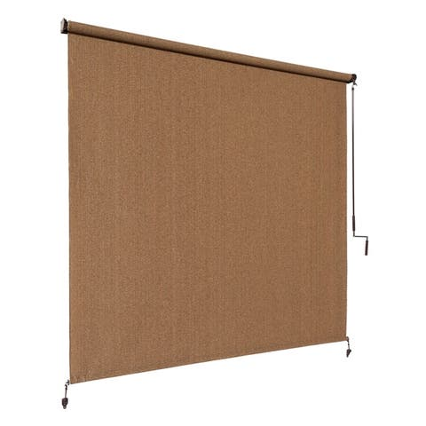 Coolaroo Exterior Shade in Walnut