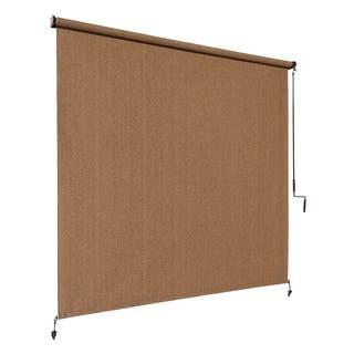 Coolaroo Exterior Shade 4'x8' Walnut