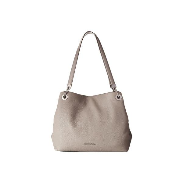 Shop Michael Kors Raven Large Pearl Grey Shoulder Tote Bag - Free ... 626512141879