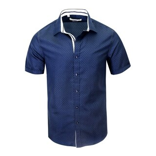 Monza Modern-Fit Short-Sleeve Printed Shirt (3 options available)