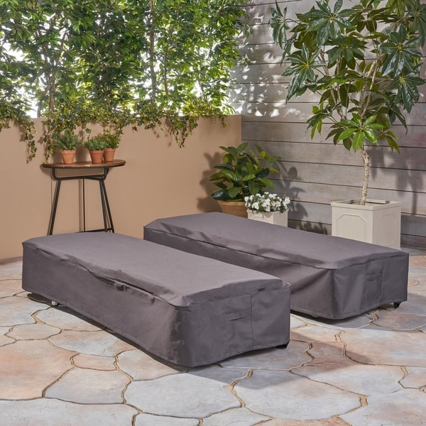 Shop Shield Outdoor Chaise Lounge Cover Set Of 2 By Christopher
