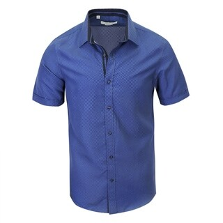 Stylish Modern-Fit Short-Sleeve Shirt (More options available)