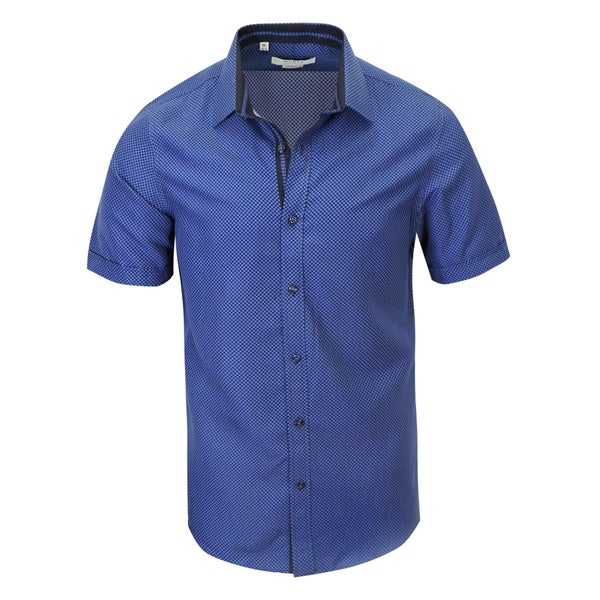 Free shipping stylish brand modern Analog Shop Stylish Modernfit Shortsleeve Shirt Free Shipping On Orders Over 45 Overstockcom 21793842 Overstockcom Shop Stylish Modernfit Shortsleeve Shirt Free Shipping On Orders