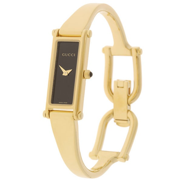 22ee8458d69 Shop Gucci 1500L Women s 18k Goldplated Watch - Free Shipping Today ...
