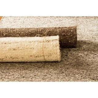 Elements Solid Wool & Jute Berber Rug, 3ft x 5ft