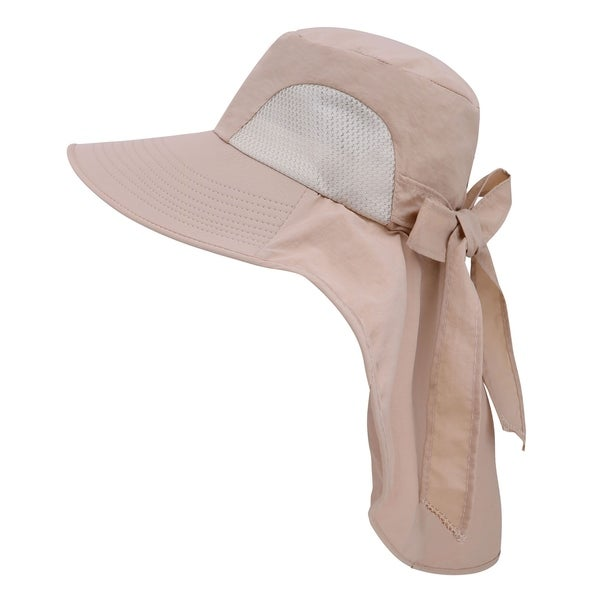 98183a12b24 Shop Jasmine Beach Hat Womens Flap Cover UPF 50