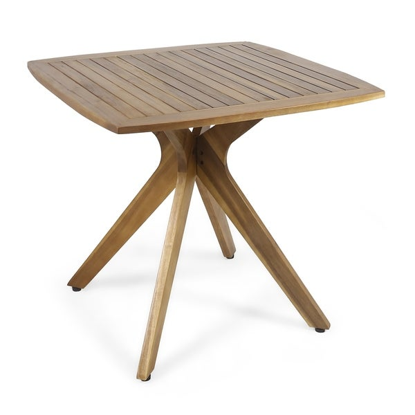 Stamford Outdoor Square Dining Table With X Base By Chirstopher Knight Home