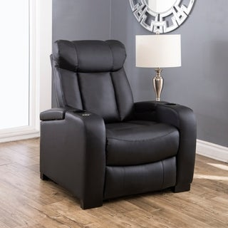 Oliver & James Hahn Leather Power Recliner