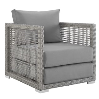 Link to Aura Rattan Outdoor Patio Armchair Similar Items in Outdoor Sofas, Chairs & Sectionals