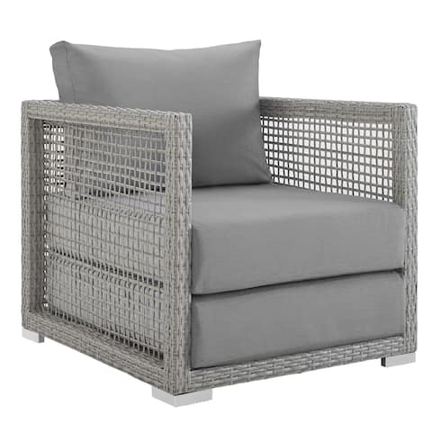 Aura Rattan Outdoor Patio Armchair