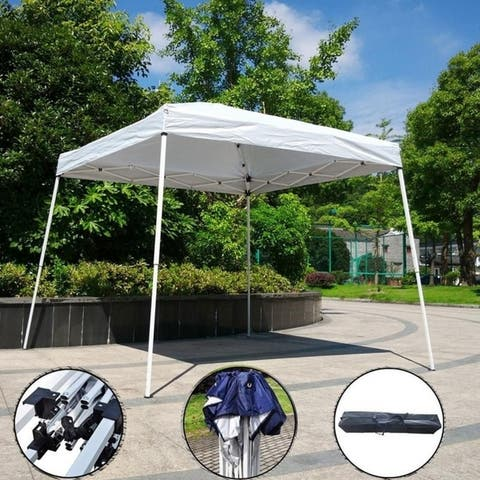 Camping Beach Gazebo Party Folding Sunshade Pop up Canopy Tent