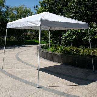Easy POP UP Instant Party Folding Sunshade Canopy Tent White (Option: 10x10 inch - White)