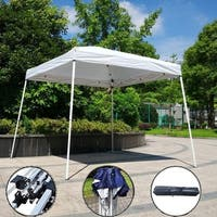Easy POP UP Instant Party Folding Sunshade Canopy Tent White