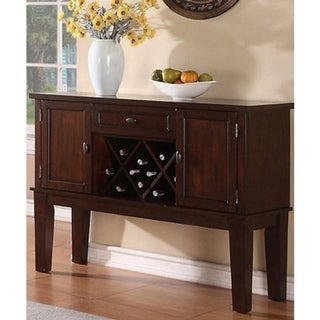 Link to Warm and Contemporary Server, Brown Similar Items in Dining Room & Bar Furniture