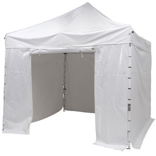 SORARA Pop Up Heavy Duty Canopy Commercial Portable Canopy, White