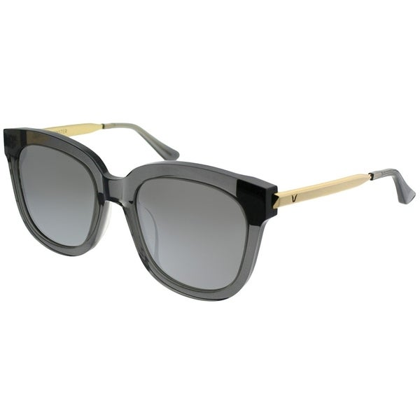 e8517054976d Gentle Monster Square Absente G1(1M) Women Clear Grey Gold Frame Silver  Mirror Lens