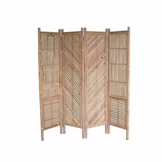 Old-Style Foldable Screen ,Brown