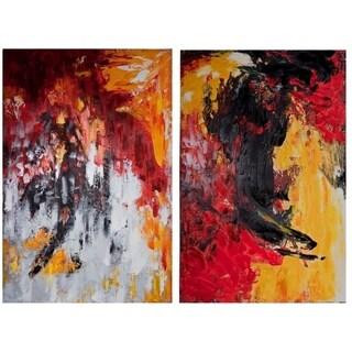 Canvas Wall Art, Multicolor, Set of 2
