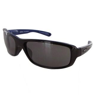Revo 4064 Mens Converge Sporty Polarized Sunglasses, Shiny Black/Graphite