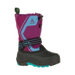 Children's Kamik Snowcoast3 Boot Plum Waterproof Ice Nylon/Synthetic Nubuck