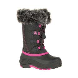 Children's Kamik Snowgypsy Black/Magenta Waterproof Nylon
