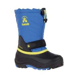 Boys' Kamik Waterbug5 Boot Blue/Sulphur Waterproof 600 Denier Nylon