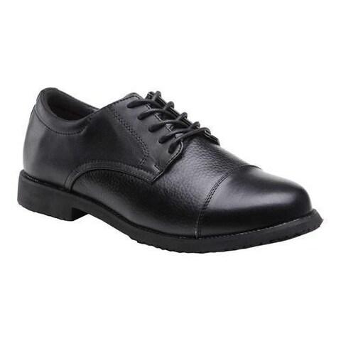 Men's Mt. Emey 2013 Cap Toe Work Shoe Black Leather