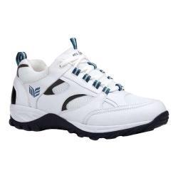 Men's Mt. Emey 9708-3L Orthopedic Sneaker White Suede/Leather/Mesh