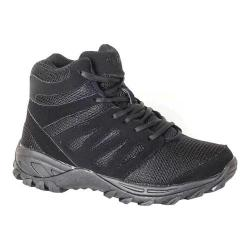 Men's Mt. Emey 9713 Walking Boot Black Leather Mesh