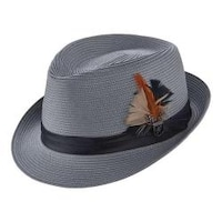 Shop Stacy Adams Cannery Row Wool Fedora Hat - Free Shipping Today ... e8034558a6b9