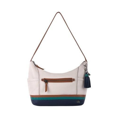 090cb4ddc7eb Shop Women s THE SAK Kendra Hobo Monterey Stripe - Free Shipping Today -  Overstock - 18743067