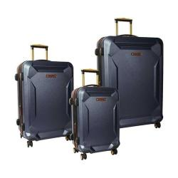 Timberland Fort Stark 3 Piece Luggage Set Navy