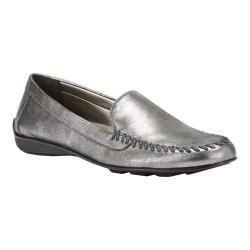 Women's Walking Cradles Mercer Loafer Pewter Leather