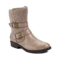 Women's Bare Traps Yoshie Bootie Taupe Leather