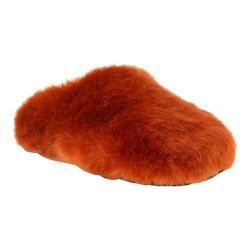 Women's Flexus by Spring Step Peluchey Slipper Rust Faux Fur