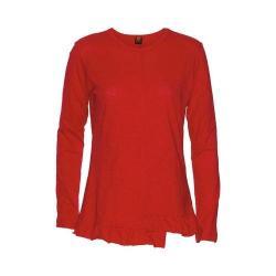 Women's Ojai Clothing Lotus Crewneck Red Tango