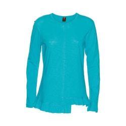 Women's Ojai Clothing Lotus Crewneck Turquoise