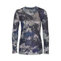 Women's Ojai Clothing Travel Classic V-Neck Camo/Navy/Grey