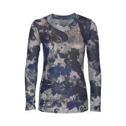 Women's Ojai Clothing Travel Classic V-Neck Camo/Navy/Grey (4 options available)